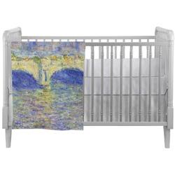 Waterloo Bridge by Claude Monet Crib Comforter / Quilt