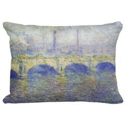 Waterloo Bridge by Claude Monet Decorative Baby Pillowcase - 16