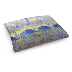 Waterloo Bridge by Claude Monet Dog Bed