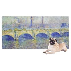 Waterloo Bridge by Claude Monet Pet Towel