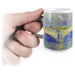 Waterloo Bridge by Claude Monet Espresso Mug - 3 oz