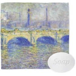 Waterloo Bridge by Claude Monet Wash Cloth