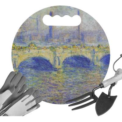 Waterloo Bridge by Claude Monet Gardening Knee Cushion