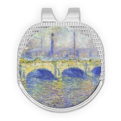 Waterloo Bridge by Claude Monet Golf Ball Marker - Hat Clip