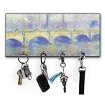 Waterloo Bridge by Claude Monet Key Hanger w/ 4 Hooks