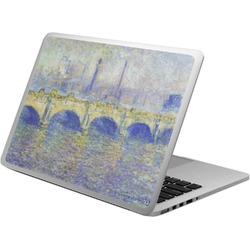 Waterloo Bridge by Claude Monet Laptop Skin - Custom Sized
