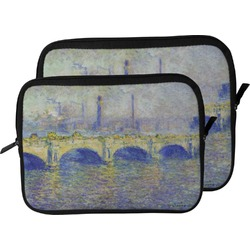Waterloo Bridge by Claude Monet Laptop Sleeve / Case