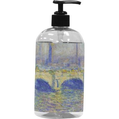 Waterloo Bridge by Claude Monet Plastic Soap / Lotion Dispenser
