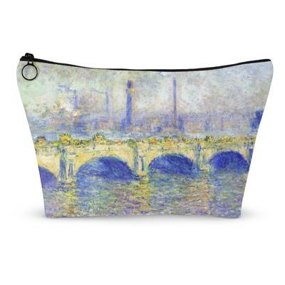 Waterloo Bridge by Claude Monet Makeup Bags