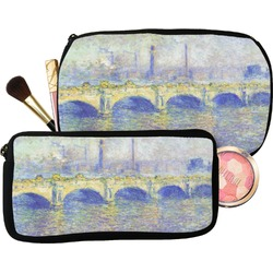 Waterloo Bridge by Claude Monet Makeup / Cosmetic Bag