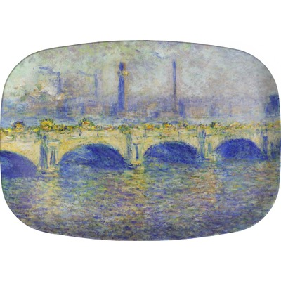 Waterloo Bridge by Claude Monet Melamine Platter