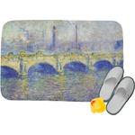 Waterloo Bridge by Claude Monet Memory Foam Bath Mat