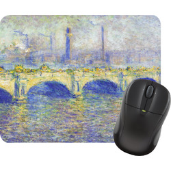 Waterloo Bridge by Claude Monet Mouse Pad