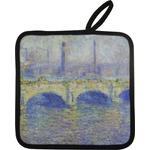 Waterloo Bridge by Claude Monet Pot Holder
