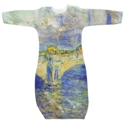 Waterloo Bridge by Claude Monet Newborn Gown