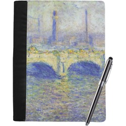 Waterloo Bridge by Claude Monet Notebook Padfolio