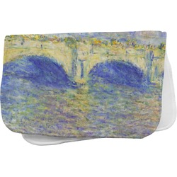 Waterloo Bridge by Claude Monet Burp Cloth