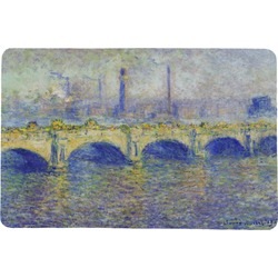 Waterloo Bridge by Claude Monet Comfort Mat