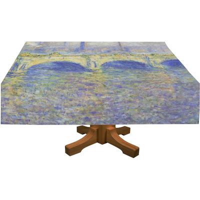 Waterloo Bridge by Claude Monet Tablecloth
