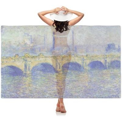 Waterloo Bridge by Claude Monet Sheer Sarong