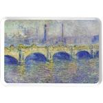 Waterloo Bridge by Claude Monet Serving Tray