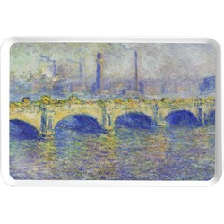 Waterloo Bridge by Claude Monet Serving Tray