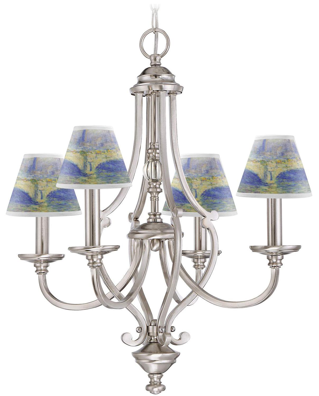 waterloo bridge chandelier lamp shade youcustomizeit. Black Bedroom Furniture Sets. Home Design Ideas