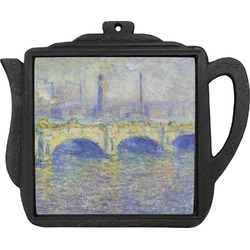 Waterloo Bridge by Claude Monet Teapot Trivet