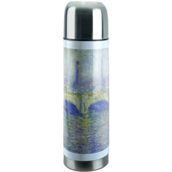 Waterloo Bridge by Claude Monet Stainless Steel Thermos