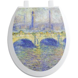 Waterloo Bridge by Claude Monet Toilet Seat Decal