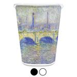 Waterloo Bridge by Claude Monet Waste Basket