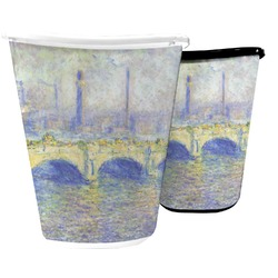 Waterloo Bridge by Claude Monet Waste Basket