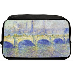Waterloo Bridge by Claude Monet Toiletry Bag / Dopp Kit