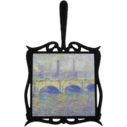 Waterloo Bridge by Claude Monet Trivet with Handle