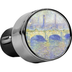 Waterloo Bridge by Claude Monet USB Car Charger