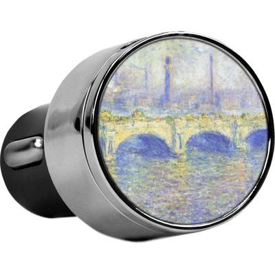 Waterloo Bridge by Claude Monet USB Car Charger