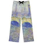 Waterloo Bridge by Claude Monet Womens Pajama Pants