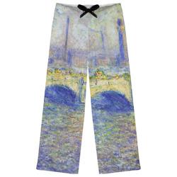 Waterloo Bridge by Claude Monet Womens Pajama Pants