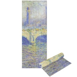 Waterloo Bridge by Claude Monet Yoga Mat - Printable Front and Back