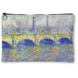 Waterloo Bridge by Claude Monet Zipper Pouch