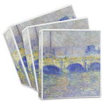 Waterloo Bridge by Claude Monet 3-Ring Binder