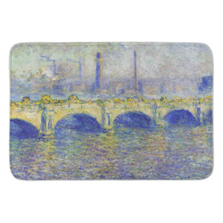 Waterloo Bridge by Claude Monet Anti-Fatigue Kitchen Mat