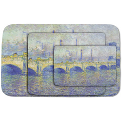Waterloo Bridge by Claude Monet Area Rug