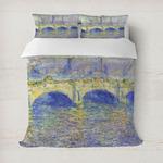 Waterloo Bridge by Claude Monet Duvet Covers