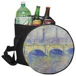 Waterloo Bridge by Claude Monet Collapsible Cooler & Seat