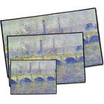 Waterloo Bridge by Claude Monet Door Mat
