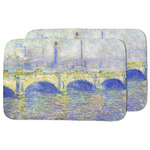 Waterloo Bridge by Claude Monet Dish Drying Mat