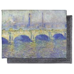 Waterloo Bridge by Claude Monet Microfiber Screen Cleaner