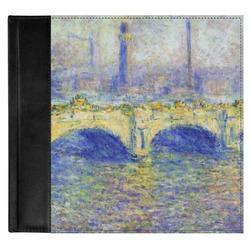 Waterloo Bridge by Claude Monet Genuine Leather Baby Memory Book