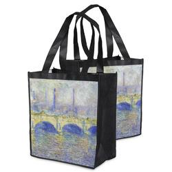 Waterloo Bridge by Claude Monet Grocery Bag